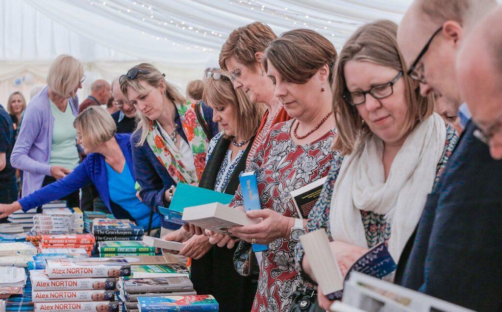 Borders Book Festival 2015 Bookshop Browsing