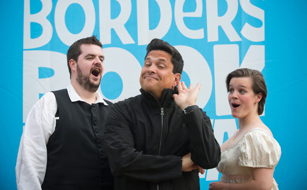 Borders Book Festival 2015 Dom Joly