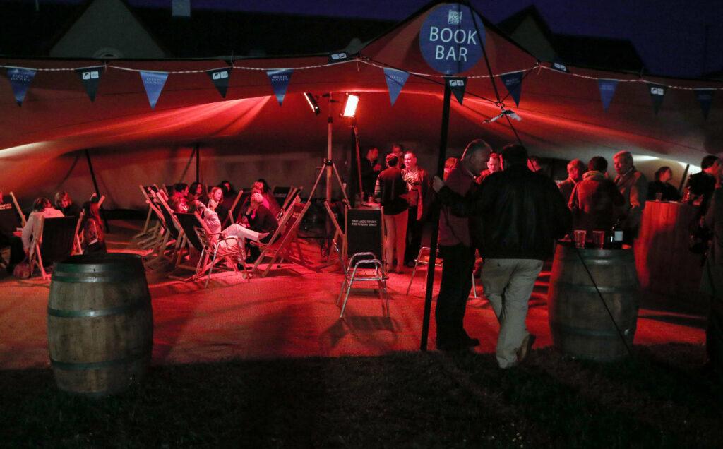 Borders Book Festival 2015 Festival Book Bar