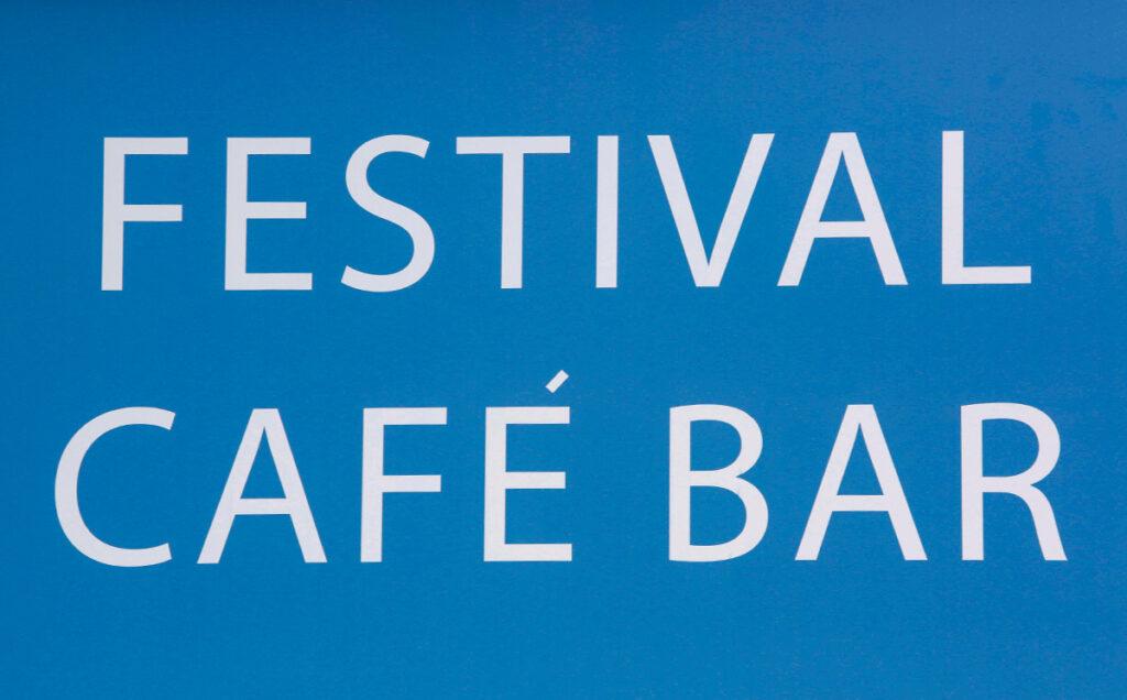 Borders Book Festival 2015 Festival Cafe Bar