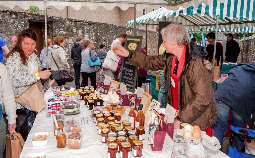 Borders Book Festival 2015 Festival Market