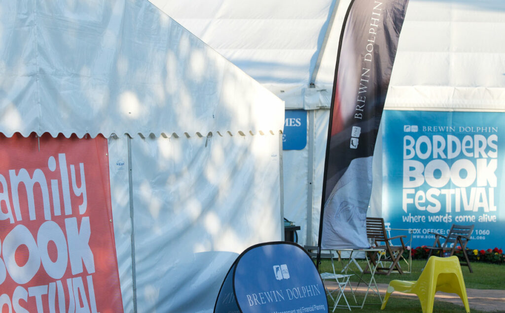 Borders Book Festival 2015 Marquees