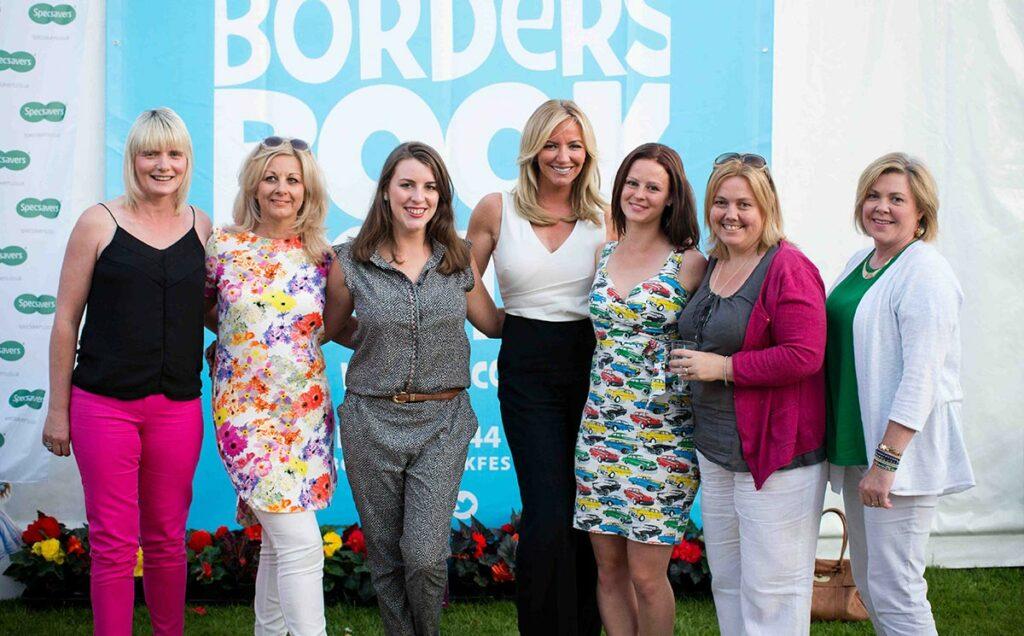 Borders Book Festival 2015 Michelle Mone
