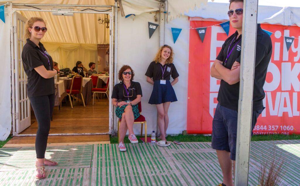 Borders Book Festival 2015 Our Wonderful Staff