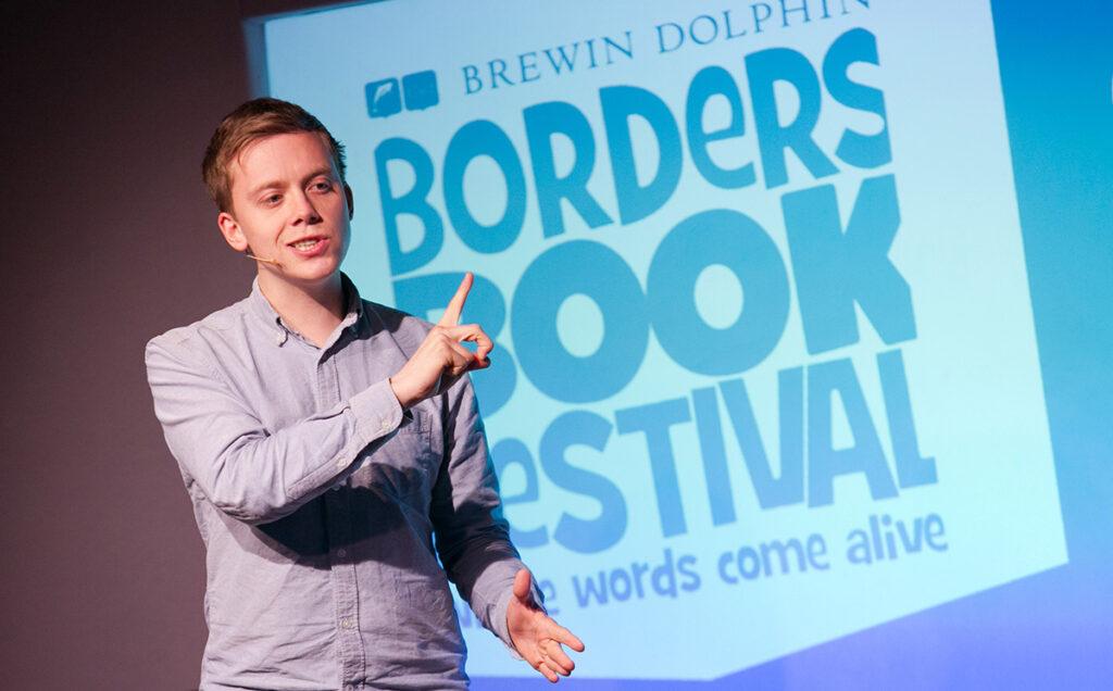 Borders Book Festival 2015 Owen Jones