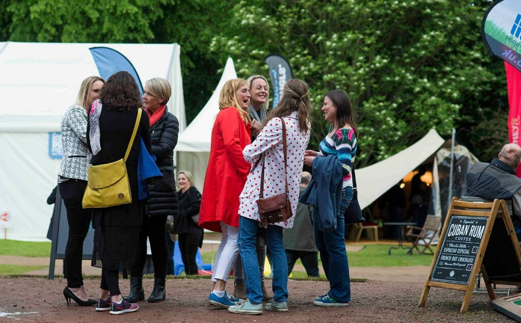 Borders Book Festival 2016 Girls Talk