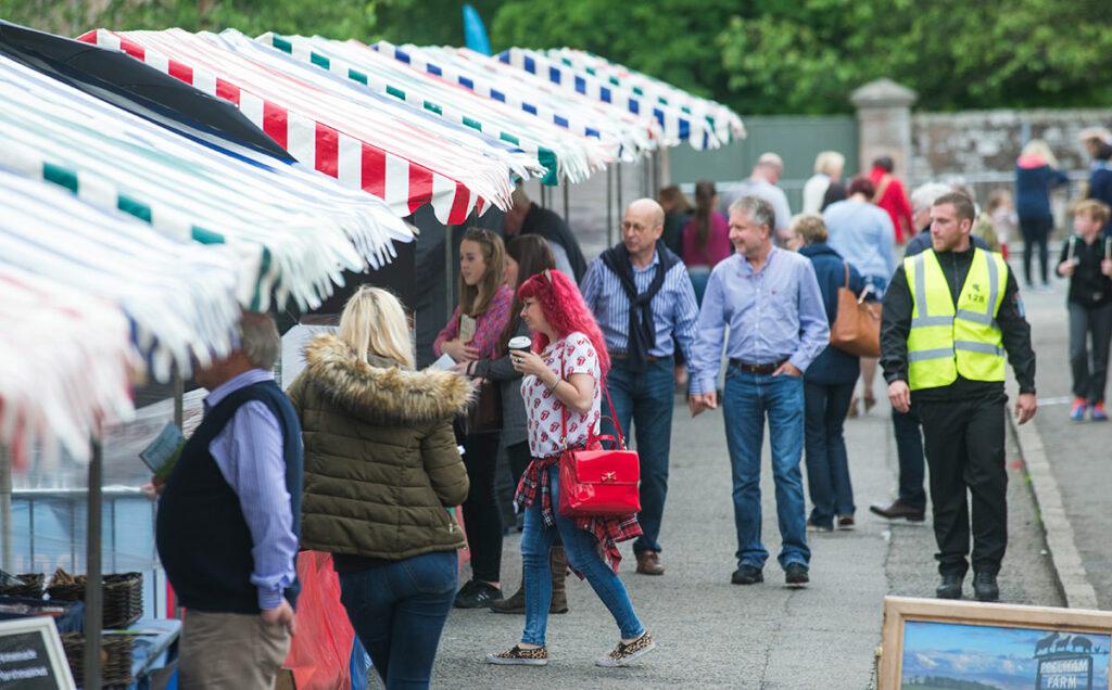 Borders Book Festival 2016 Market Stalls