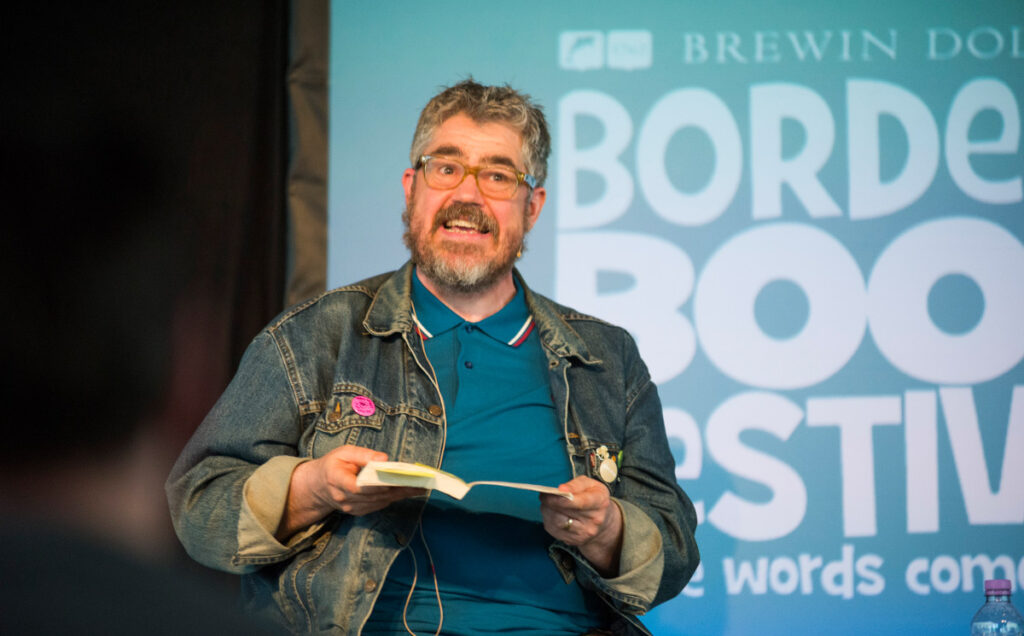 Borders Book Festival 2016 Phil Jupitus