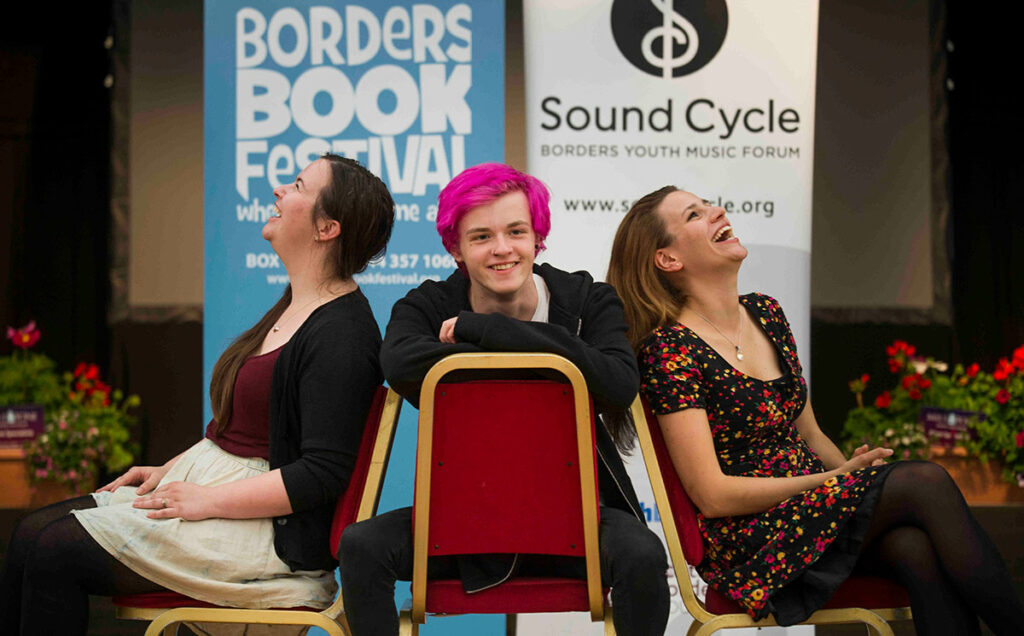 Borders Book Festival 2016 Sound Cycle