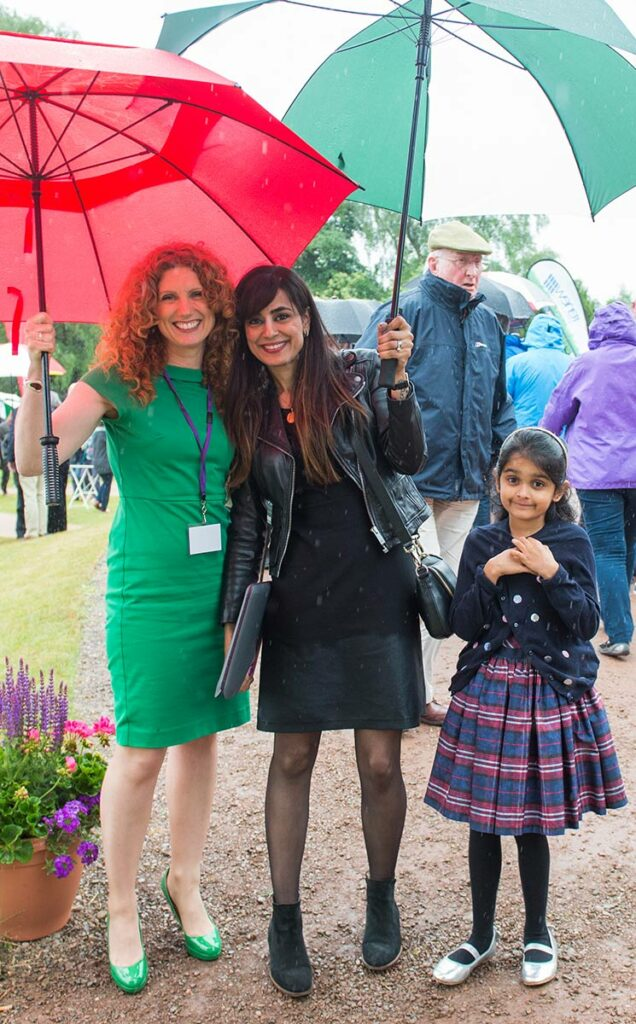 Borders Book Festival 2016 Vanessa Collingridge And Sumayya Usmani