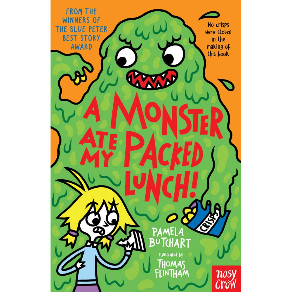 A Monster Ate My Packed Lunch Pamela Buchart